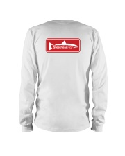 MNST Red Logo 2 Apparel Long Sleeve Tee back