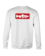 MNST Steelhead Red Logo 1 Apparel Crewneck Sweatshirt back