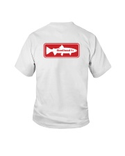 MNST Steelhead Red Logo 1 Apparel Youth T-Shirt back