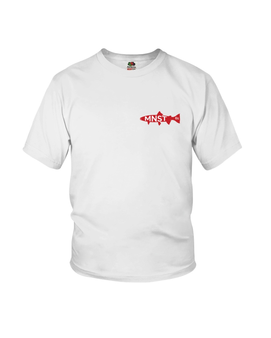 MNST Steelhead Red Logo 1 Apparel Youth T-Shirt