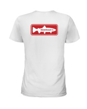 MNST Steelhead Red Logo 1 Apparel Ladies T-Shirt back
