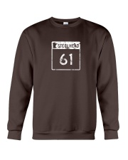 Steelhead 61 - White Distressed Logo Apparel Crewneck Sweatshirt tile