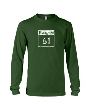 Steelhead 61 - White Distressed Logo Apparel Long Sleeve Tee thumbnail