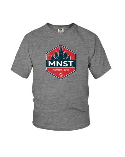 MNST Membership shirt - distressed logo