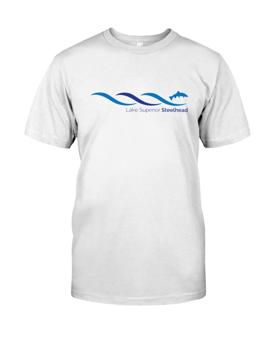 Lake Superior Steelhead Research Classic T-Shirt