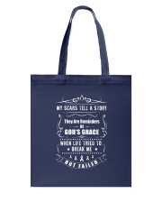 MY SCARS TELL A STORY Tote Bag thumbnail