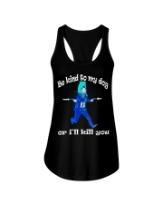 Funny Rescue Gift T-Shirt For American Pit-bull Ladies Flowy Tank thumbnail