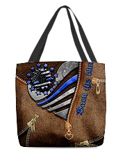 Different is not less  All-over Tote front