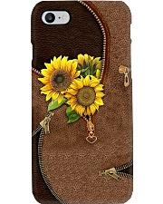 Vintage sunflower Phone Case i-phone-8-case