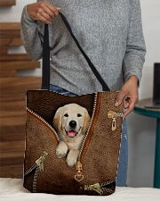 Cute Golden Retriever  All-over Tote aos-all-over-tote-lifestyle-front-10