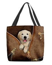 Cute Golden Retriever  All-over Tote back