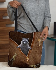 Cute racoon All-over Tote aos-all-over-tote-lifestyle-front-10