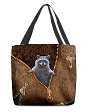 Cute racoon All-over Tote back