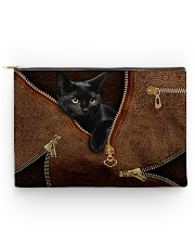 Black cat pouch Accessory Pouch tile