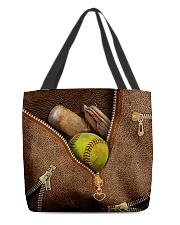 Softball All-over Tote front