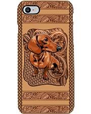 Vintage Dachshund Phone Case i-phone-8-case