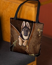 Cute German Shepherd All-over Tote aos-all-over-tote-lifestyle-front-02