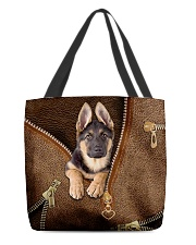 Cute German Shepherd All-over Tote back
