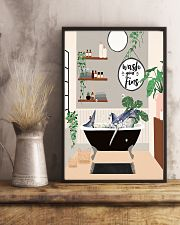 Wash your fins 11x17 Poster lifestyle-poster-3