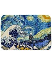 Starry night shower Bath Mat tile