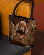 Cute dachshund All-over Tote aos-all-over-tote-lifestyle-front-02