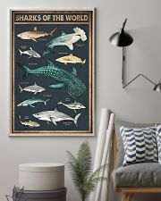Sharks of the world 11x17 Poster lifestyle-poster-1