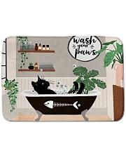 Wash your paws Bath Mat tile