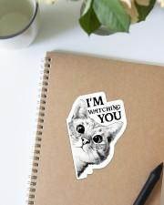 I'm watching you Sticker - Single (Vertical) aos-sticker-single-vertical-lifestyle-front-16