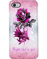 Fight like a girl Phone Case i-phone-8-case