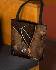 Nurse life All-over Tote aos-all-over-tote-lifestyle-front-02