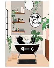 Wash your paws 11x17 Poster front
