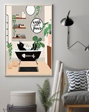 Wash your paws 11x17 Poster lifestyle-poster-1