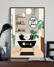 Wash your paws 11x17 Poster lifestyle-poster-2