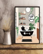 Wash your paws 11x17 Poster lifestyle-poster-3