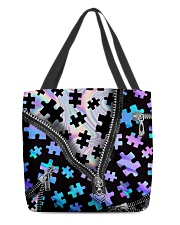 Puzzles holo All-over Tote back