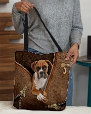 Cute Boxer All-over Tote aos-all-over-tote-lifestyle-front-10