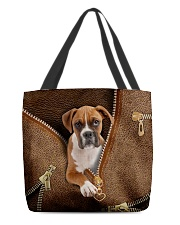 Cute Boxer All-over Tote front