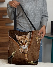 Cute cat All-over Tote aos-all-over-tote-lifestyle-front-10