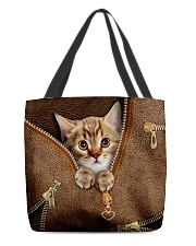 Cute cat All-over Tote back