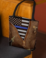 Back the blue All-over Tote aos-all-over-tote-lifestyle-front-02