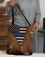 Back the blue All-over Tote aos-all-over-tote-lifestyle-front-10