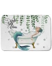 "Wash soak relax Bath Mat - 24"" x 17"" thumbnail"