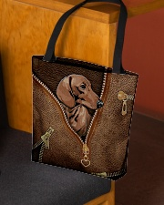 Vintage dachshund All-over Tote aos-all-over-tote-lifestyle-front-02