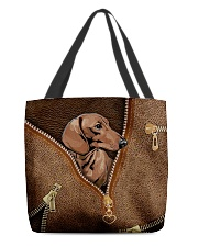 Vintage dachshund All-over Tote front