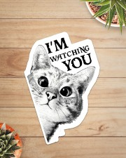 I'm watching you Sticker - Single (Vertical) aos-sticker-single-vertical-lifestyle-front-07