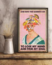 Into the garden I go 11x17 Poster lifestyle-poster-3