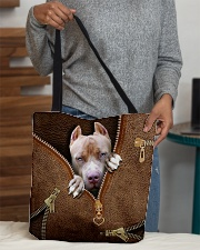 Pitbull All-over Tote aos-all-over-tote-lifestyle-front-10