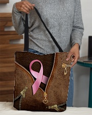 Breast cancer awareness All-over Tote aos-all-over-tote-lifestyle-front-10
