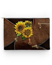 Sunflower pouch Accessory Pouch tile