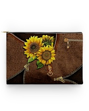 Sunflower pouch Accessory Pouch - Large thumbnail